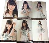 AKB48 大森美優 2016 9月月別生写真 6種コンプ