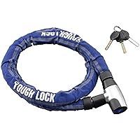 ヤマハ(YAMAHA) バイクロック TOUGH LOCK(タフロック) YL-02 スチールリンクロック 1.5m ブルー Q5K-YSK-107-T04