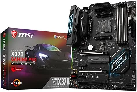 MSI X370 GAMING PRO CARBON ATXゲーミングマザーボード [AMD RYZEN対応 socket AM4] MB3907