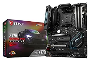 MSI X370 GAMING PRO CARBON ATX ゲーミングマザーボード [AMD RYZEN対応 socket AM4] MB3907