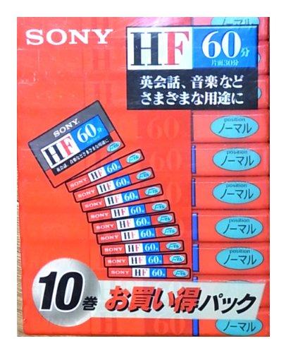 SONY 10C-60HFA オーディオテープ