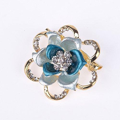 [해외](몽 스타일) mon style 브로치 플라워 스톤 BROA/(Monstyle) mon style Brooches Flower Flower Stone BROA