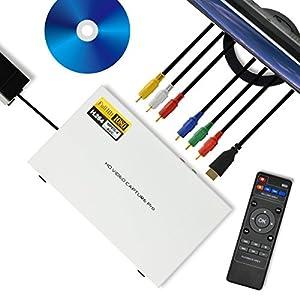 HDMIキャプチャー&プレーヤー キャプ録 Pro 録った映像はそのままテレビで再生・パソコン不要 ・ブルーレイ画質録画で ハードディスクに直接保存・アナログ機器の接続もOK