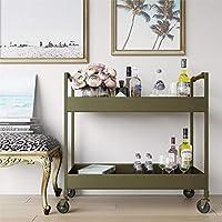 Novogratz DA7621 Dorel Living Waylon Bar Cart, Brass finish [並行輸入品]