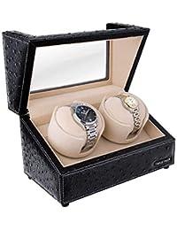 TRIPLE TREE ワインディングマシーン 2本巻き 腕時計自動巻き上げ器 ウォッチワインダー