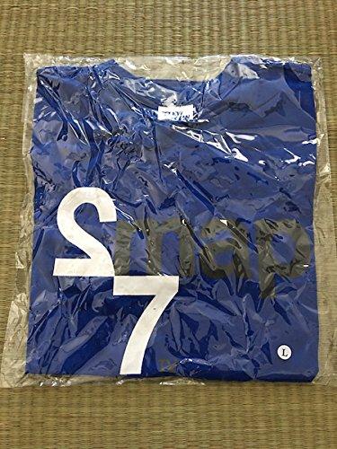 SMAP 27時間 TVノンストップライブ 限定Tシャツ 青色 L