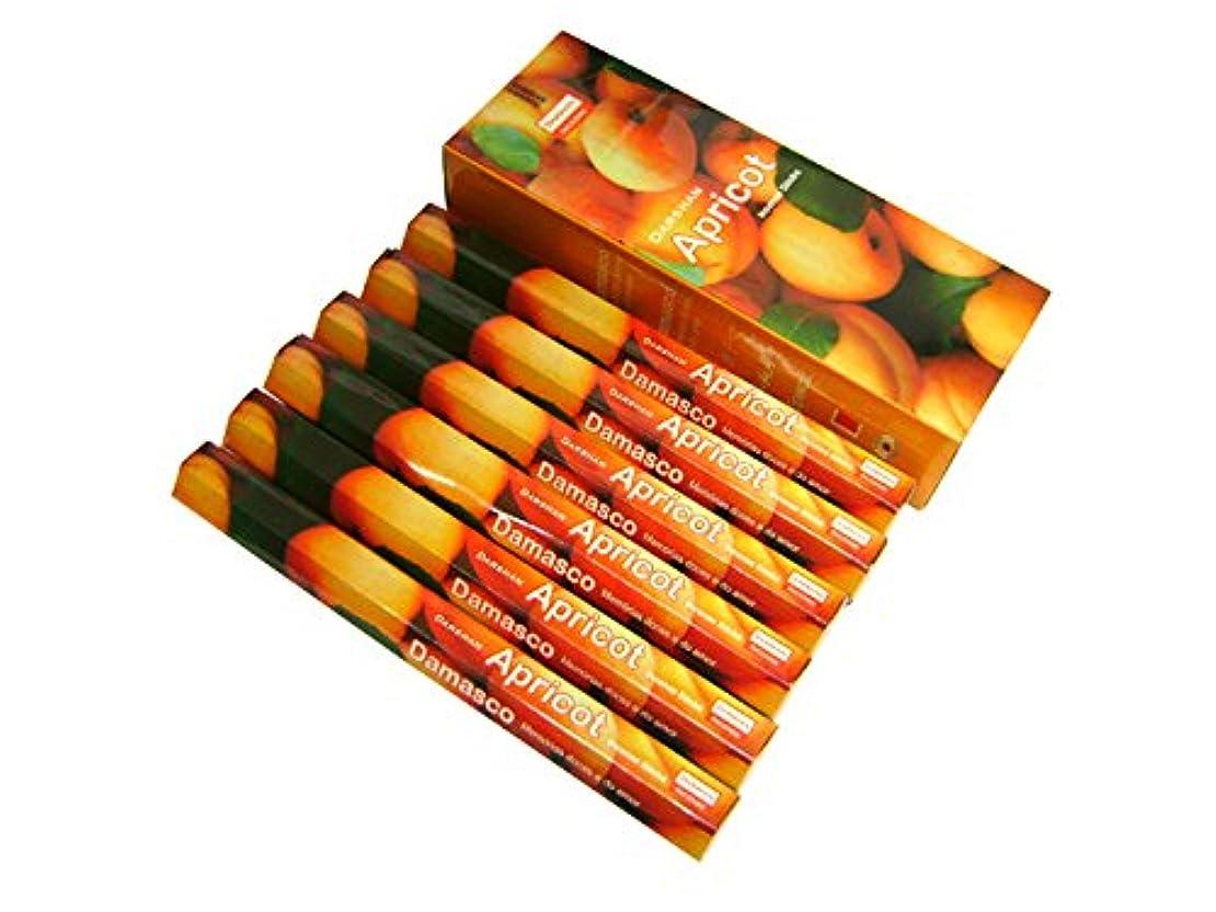 ボルト聴衆小売DARSHAN(ダルシャン) アプリコット香 スティック APRICOT 6箱セット