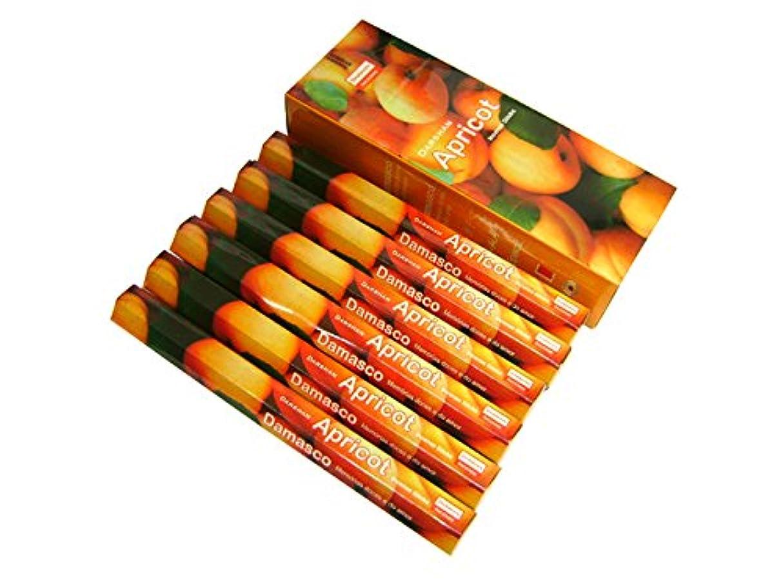 倫理的硫黄れるDARSHAN(ダルシャン) アプリコット香 スティック APRICOT 6箱セット