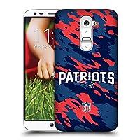 オフィシャル NFL カモフラージュ ニューイングランド・ペトリオッツ ロゴ ハードバックケース LG G2 / D800 / D802 / D801