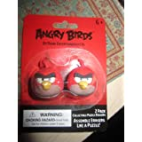 Angry Birds Red Birds Puzzle Erasers 2pk