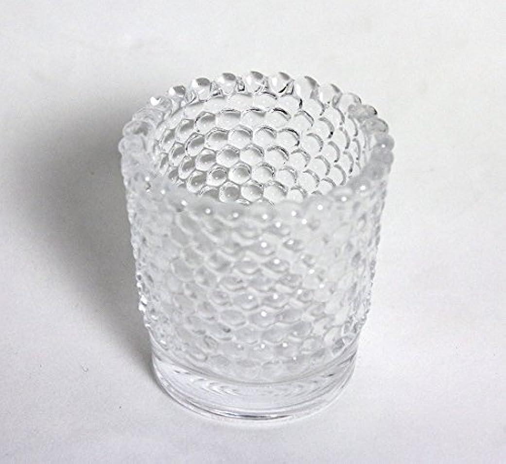 クーポンダブル届けるカメヤマキャンドル( kameyama candle ) ホビネルグラス 「 クリスタル 」