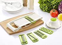 BsterLF Kitchen Vegetable Slicer Julienne Grater Mandoline Slicer (White) [並行輸入品]