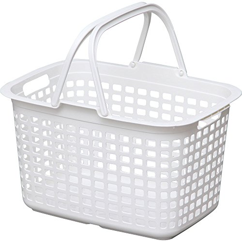 アイリスオーヤマ バスケット ランドリー ピュアホワイト L...