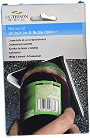 Homecraft Undo-It Jar and Bottle Opener, Kitchen Aid for One-Handed Use or for Individuals with Limited and We