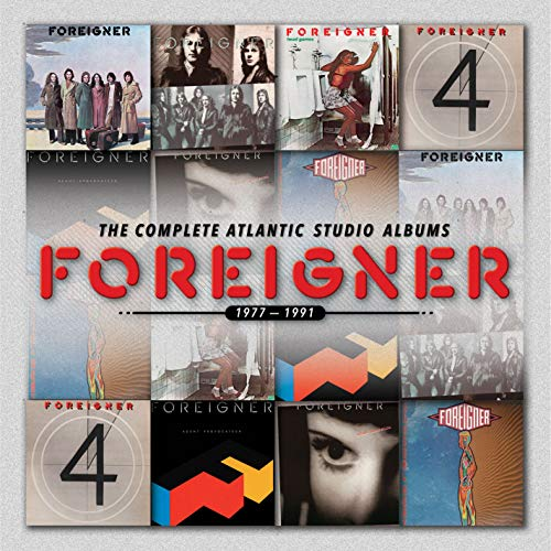 Foreigner: The Complete Atlantic Studio Albums