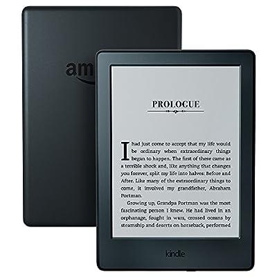 "Kindle E-Reader, 6"" Glare-Free Touchscreen Display"