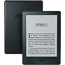 "Kindle E-Reader, 6"" Glare-Free Touchscreen Display, Wi-Fi (Black)"