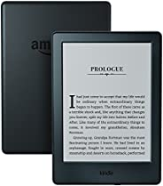 "Kindle E-Reader, 6"" Glare-Free Touchscreen Display, Wi-Fi (B"