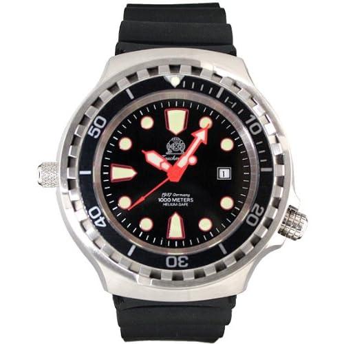 [トーチマイスター1937]Tauchmeister1937 腕時計 ドイツ製大型重厚1000M防水ダイバーズ 自動巻 T0255 (並行輸入品)