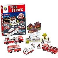 ペーパー3D 消防車の教育おもちゃ子供のため
