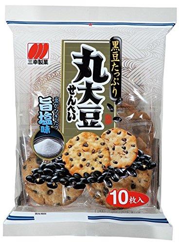 三幸製菓 丸大豆せんべい旨塩味 10枚×12袋