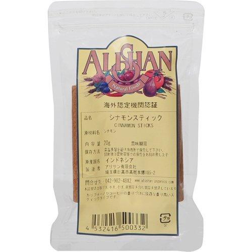 Alishan シナモンスティック 20g ×6セット