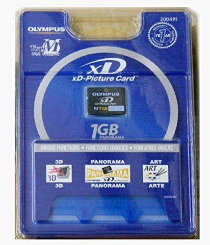 オリンパス xD ピクチャーカード 1GB タイプM パノラマ対応 OLYMPUS 海外向けパッケージ品 [並行輸入品]