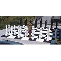 MegaChess Giant Plastic Chess Set with a 49