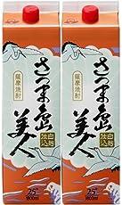 長島研醸 さつま島美人 芋 25度 パック 1800ml×2本