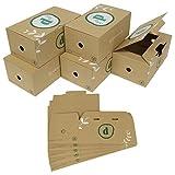 コミック CD DVD 収納 ボックス ケース 10個セット B6版 漫画 単行本 (グリーン)
