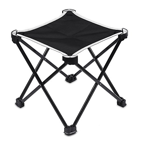 JVMAC 折りたたみチェア コンパクト 超軽量 耐荷重100kg アウトドア椅子 室内にも適用 収納バッグ付き 持ち運びに便利 品質保証