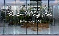 ウィンドゥカッティングシール「Mother's Day Sale(Edward)/大」