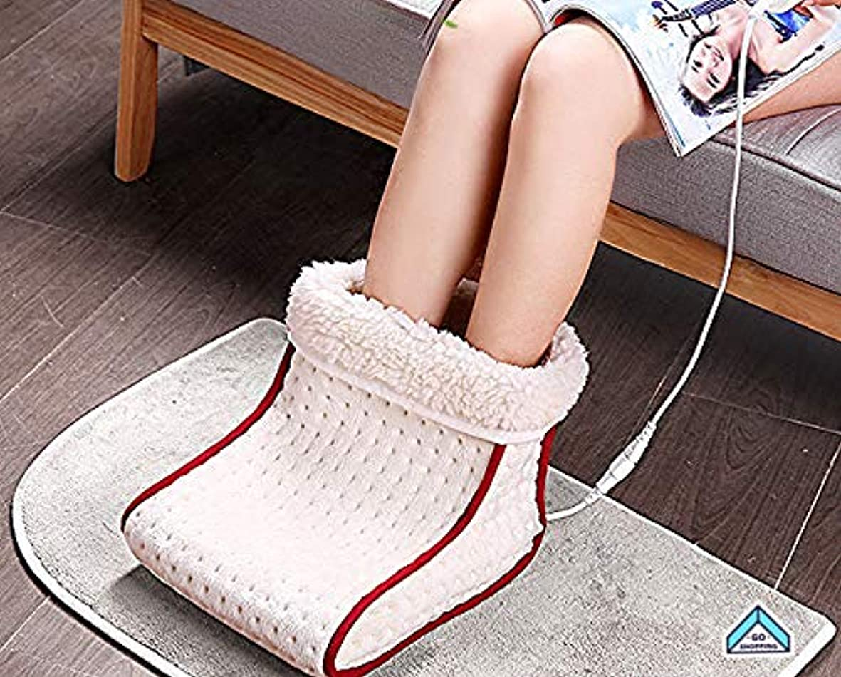幅わずかなもろいNICEEフットウォーマー電気フィートヒーターコンフォートスエードWashableTemperatureクッションfor Cozy Feet Foot WarmerNICEY