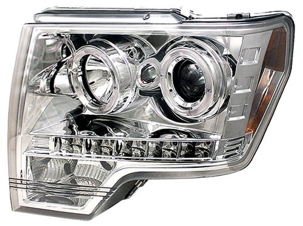 加害者該当するについてIPCW CWS-568C2 Ford F150, F250 Ld 2009 - 2013 Head Lamps, Projector With Rings Chrome