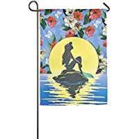 DFGTLY Fashion Personalized Garden Flag,Beautiful With Tail Garden Flag-12