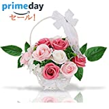 ソープフラワー 創意花かごギフトボックス 誕生日 母の日 記念日 先生の日 バレンタインデー 昇進 転居など最適としてのプレゼント