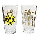 ボルシアドルトムント グラス2個セット(bvb16700600)