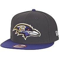 ニューエラ (New Era) 9フィフティ スナップバック キャップ - NFL ボルティモア?レイブンズ (Baltimore Ravens) 黒鉛 S/M (54-58cm)