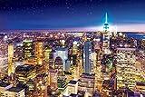 1000ピース ジグソーパズル  ニューヨークの夜景-アメリカ (50x75cm)