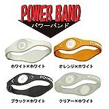 パワーバンド(PowerBand)クリアー×ホワイト(S-M)