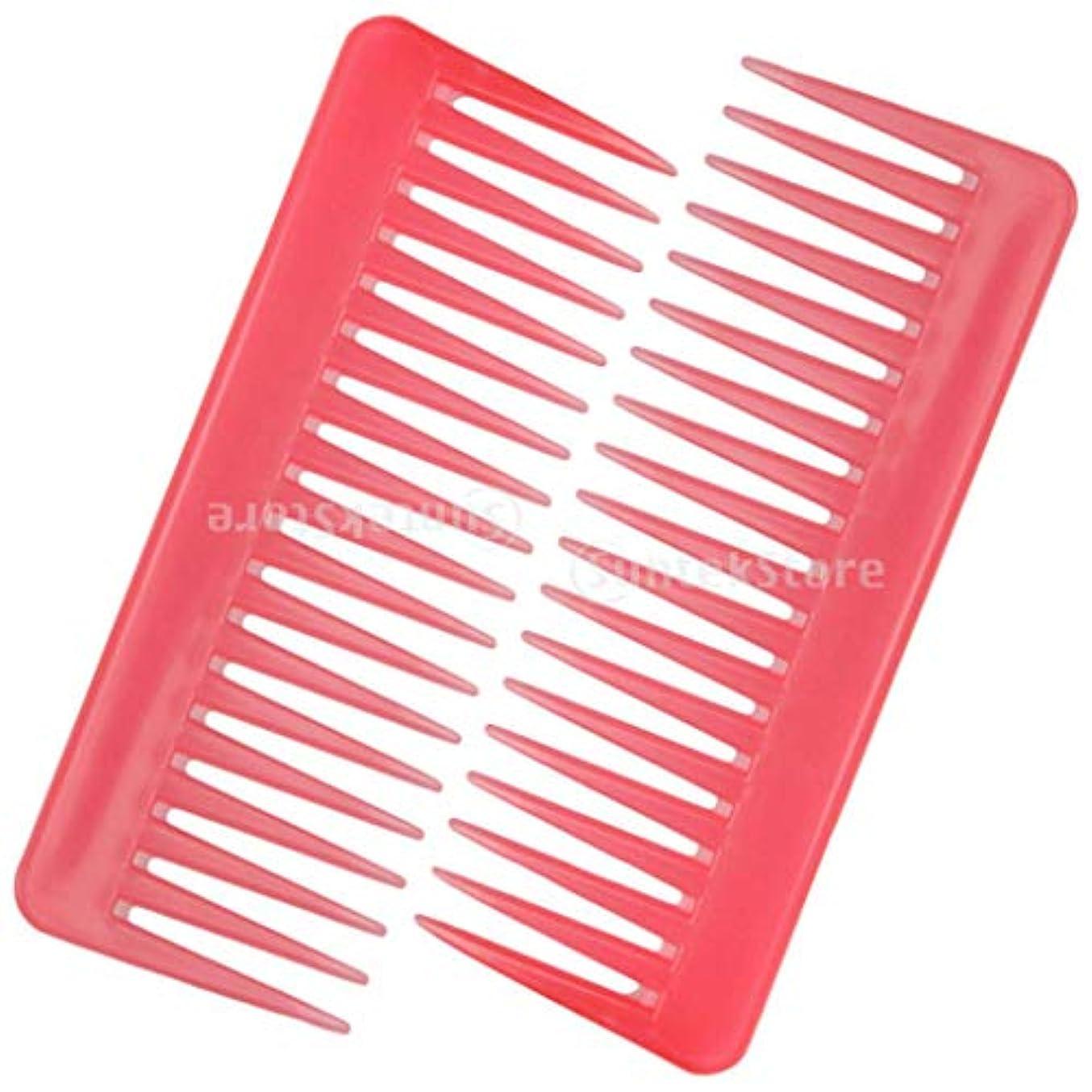 必要条件極貧ライドPerfeclan 2個セット 静電防止くし 広い歯 櫛 サロン ヘアブラシ ヘアスタイリング