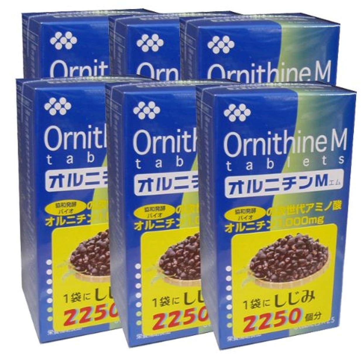 レモン魅力的思慮のない協和発酵オルニチンM (6粒×25袋)×6個セット 4987097808114