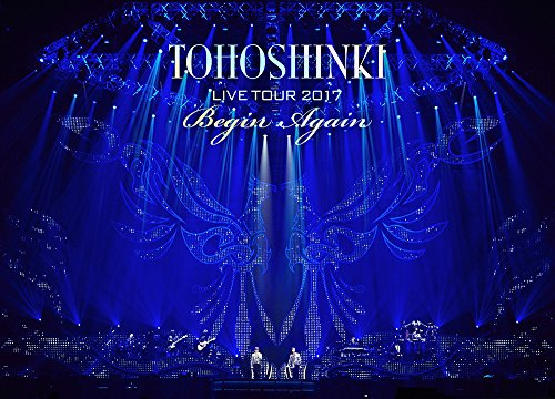東方神起 LIVE TOUR 2017 ~Begin Again~(DVD3枚組)(スマプラ対応)(初回生産限定盤)