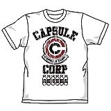 ドラゴンボール改 カプセルコーポレーションTシャツ改 ホワイト サイズ:M