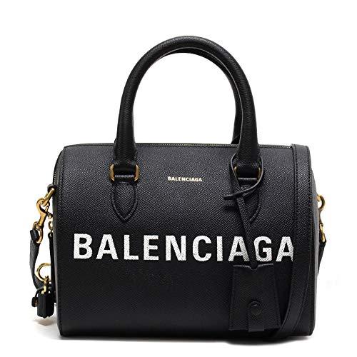 (バレンシアガ)BALENCIAGA VILLE BOWLING S 2WAYバッグ【ブラック】518872 0OT0M 1000 [並行輸入品]