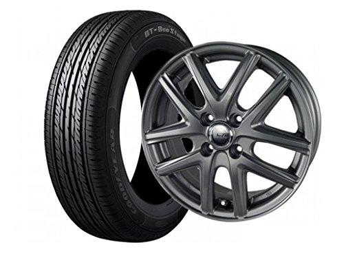 サマータイヤ・ホイール1本セット 14インチ GOODYEAR(グッドイヤー) GT-エコステージ 155/65R14 75S 共豊コーポレーション (KYOHO) クリケット L/P 1445 4/100 +45
