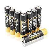 Odec 高容量充電式単4形ニッケル水素電池 8個パック (最小容量1000mAh 約1200回使用可能) OD-AAA-002-JPA