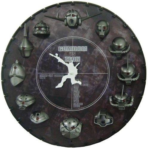 GUMDAM ガンダム3D掛時計 メタルカラー色 4MGA03GZ02