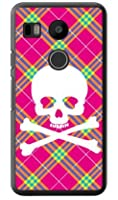 SECOND SKIN スカルパンク ピンク (クリア) / for Nexus 5X LG-H791/docomo  DLGN5X-PCCL-201-Y218