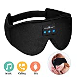 MUSICOZY Sleep Headphones Bluetooth Wireless Sleeping Eye Mask, Office Travel Unisex Gifts Men Women Who Have Everything Top Christmas Cool Tech Gadgets Unique Mom Dad Her Him Adults Teen Boys Girls